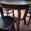 ชุดโต๊ะ+เก้าอี้เชคโก3ตัว รหัส6560ck thumbnail 9
