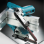 """เครื่องขัดสายพาน 3/8"""" x 21"""" 9mm x 533mm รุ่น 9032 ยี่ห้อ Makita (JP) Belt Sander 9mm thumbnail 6"""