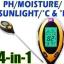 PH01-เครื่องวัดดิน ระบบดิจิตอล 4in1 วัดค่ากรดด่าง PH meter, วัดความชื้น, วัดอุณหภูมิ, ความเข้มแสง รุ่น AMT300/KCB300 thumbnail 1