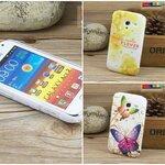 (005-031)เคสมือถือ Samsung Galaxy Ace 2 i8160 เคสพลาสติกลายดอกไม้ประดับคริสตัล