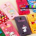 (152-654)เคสมือถือซัมซุงกาแล็คซี่เอส 4 Samsung Galaxy เคสนิ่มลายการ์ตูนน่ารักๆ ดิสนีย์ Melody