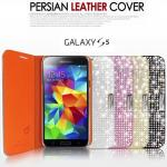 Dreamplus : Persian Leather Diary Crystal Cubic  Case Cover for Samsung Galaxy S5, SV, G900