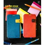 Zenus : Color Edge Diary Cover Case For Galaxy Note 3, III, N9000, N9005