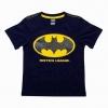 Batman - (งานลิขสิทธิ์) เสื้อยืดแบทแมน สีกรมเข้ม ใส่สบาย ลำลองๆ ได้ทุกวัน ราคาเบาๆ ค่ะ size 6, 8, 10