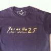 เสื้อ ภ.Yes or no2.5 Size L