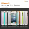 Walnutt : Bumper Type Slim Fitted Case Shock Protection for iPhone 5