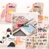 (152-660)เคสมือถือไอโฟน case iphone 5/5s เคสแบบซองลายการ์ตูนน่ารักๆ
