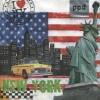 p-7452 แนพกิ้น33 new york