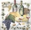 แนพกิ้น 33x33 Kitchen Wine 13306815