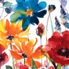 Colorful flower กระดาษแนปกิ้น เดคูพาจ 367743