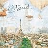 กระดาษแนปกิ้น เดคูพาจ 211354 Paris