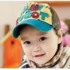หมวกแก๊ปเด็กปักลาย MINI ROBOT (ซื้อ 3 ใบ ราคาส่ง 120 บาท/ใบ)
