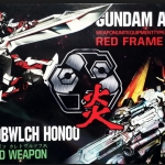Gundam Astray Weapon unit equipment Red Frame [BTF]