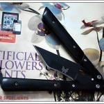 มีดBalisong TKBS 113S0019 Black Butterfly