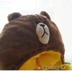 หมวก หมีบราวน์ Brown น่ารักมากๆค่ะ (ซื้อ 3 ชิ้น ราคาส่ง 320 บาท/ชิ้น)