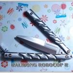 มีดซ้อมควงโรโบคอป2 The Robocop II Balisong TRAINER KNIFE
