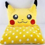 หมอนผ้าห่มปิกะจู Pikachu โปเกม่อน ขนาด 3 ฟุต