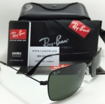 RB 3514 Aviator Flat Metal 153/71 58-15 3N < ดำ >