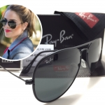 RB 3025J-M Aviator Full Color ll 002 58-14 3N <Full Black>