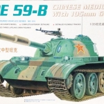 1/35 TYPE59-B Chinese Medium Tank 105mm