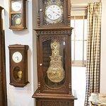 นาฬิกาปารีส ตุ้มพวง คนตีgolf รหัส91457fc