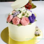 Korean Buttercream Flower Cake Class-Basic