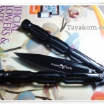 มีดควง Balisong Black Whale TK2013/00411