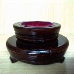 ฐานไม้โชว์ปั้นชา2ชั้น หมุนได้ wooden teapot stand Double C