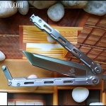 มีดควง ไวท์มาซามุ White Masamu Balisong Knife TKBS-MM889