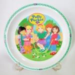 จานเมลามีนลาย Polly Pocket