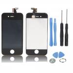 เปลี่ยนซ่อมกระจกหน้าจอแตก iphone 4s ไอโฟน แบบเปลี่ยนเอง