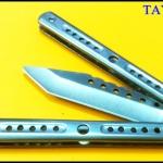 มีดซ้อมควง ไวท์แมมมอธ White Mammoth Balisong Trainer TKBS-WM3TR