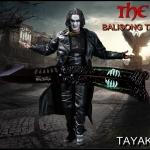มีดซ้อมควง เดอะโครว์อีกาดำ The Crow Balisong Trainer Knife
