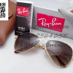 Ray Ban Aviator Flat Metal RB3513 149/13 58-15 2n