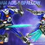 HG AGE 1/144 Gundam AGE-1 Spallow [Momoko]