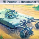 1/35 M1 PANTHER II MINECLEARING TANK