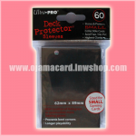Ultra•Pro Small Deck Protector / Sleeve - Black 60ct.