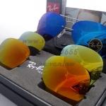 RB-3460 RAYBAN flip out avitor  เลนส์ปรอท สามสี น้ำเงิน ส้ม เหลือง