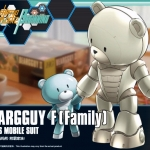 1/144 HGBF Beargguy Family Mirai Kamiki's Mobile Suit Assembled model action figure plastic model kits toys
