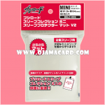 Bushiroad Collection Mini Deck Protector / Sleeve - Clear / Matte 70ct.