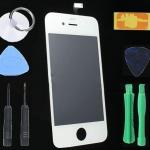 เปลี่ยนซ่อมกระจกหน้าจอแตก iphone 4 ไอโฟน แบบเปลี่ยนเอง