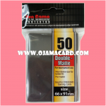 Pro Game Protector Sleeve Double-Matte : Black 50ct.