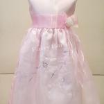 ชุดราตรีเด็กหญิงใส่ออกงานสีชมพู สำหรับเด็กโต LL265