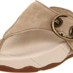 FitFlop Women's Hooper Sandal,Buff