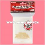 Yu-Gi-Oh! ZEXAL OCG Duelist Card Protector / Sleeve - Gold x100