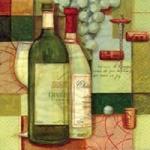 แนพกิ้น 33x33 Kitchen Wine 340201