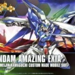 HGBF 1/144 Gundam Amazing Exia