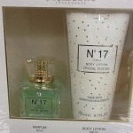 น้ำหอม Jacques Battini Fragrance No 17 Parfum Crystal Edition Gift Set Made with Swarovski Elements