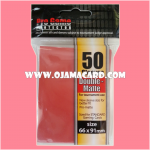 Pro Game Protector Sleeve Double-Matte : Red 50ct.