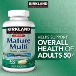 Kirkland Signature™ Adults 50+ Mature Multi, 400 Tablets